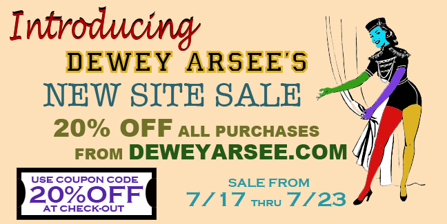 sale sign Dewey Arsee